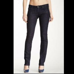 NWT 7 For All Mankind kimme straight leg blue 25
